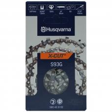 """Pjovimo grandinė Husqvarna 14"""" 35cm 3/8 1.3mm X-cut 52 nareliai"""