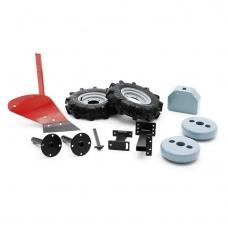 Plūgas su guminiais ratais ir svoriais T434P; T334;TF435;TF435P
